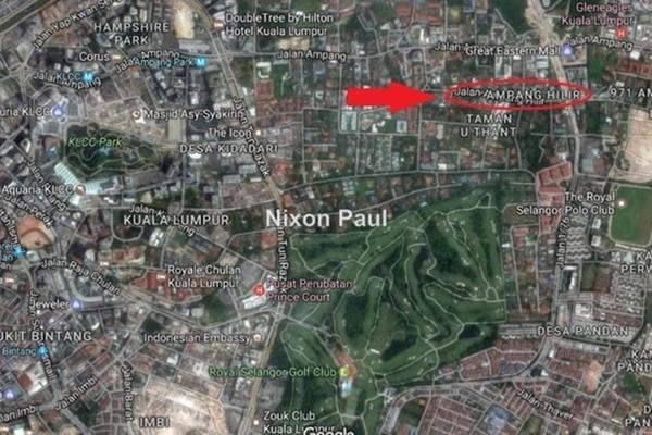 For Sale Bungalow at Taman U-Thant, Ampang Hilir Freehold Semi Furnished 12R/10B 47m