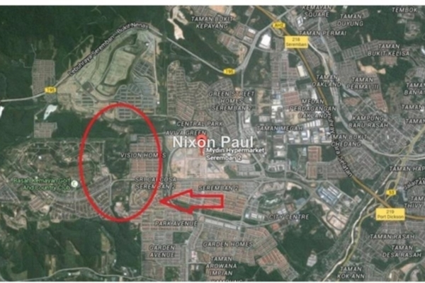 For Sale Land at Taman Sri Pinang, Seremban 2 Freehold Unfurnished 0R/0B 29m