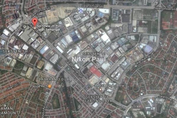 For Sale Land at Section 13, Petaling Jaya Freehold Unfurnished 0R/0B 92.5m