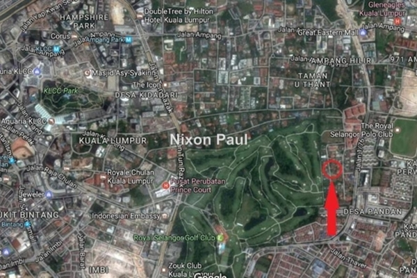 For Sale Land at Taman U-Thant, Ampang Hilir Leasehold Unfurnished 0R/0B 18.5m
