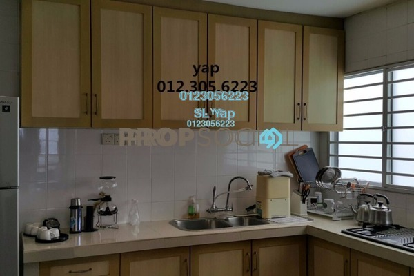 For Sale Apartment at D'Kiara Apartment, Pusat Bandar Puchong Leasehold Semi Furnished 3R/2B 388k