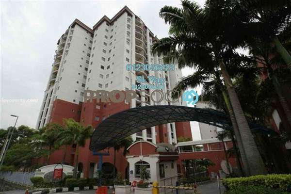 For Rent Condominium at Ketumbar Hill, Cheras Freehold Semi Furnished 3R/2B 1.5k