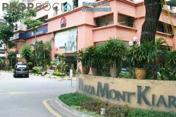For Rent Office at Plaza Mont Kiara, Mont Kiara Freehold Fully Furnished 0R/0B 1k