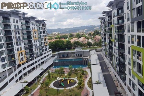 For Rent Condominium at Mahkota Garden Condominium, Bandar Mahkota Cheras Freehold Semi Furnished 4R/3B 1.2k