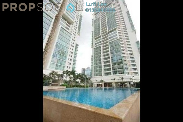 For Rent SoHo/Studio at Marc Service Residence, KLCC Freehold Fully Furnished 1R/1B 3.2k