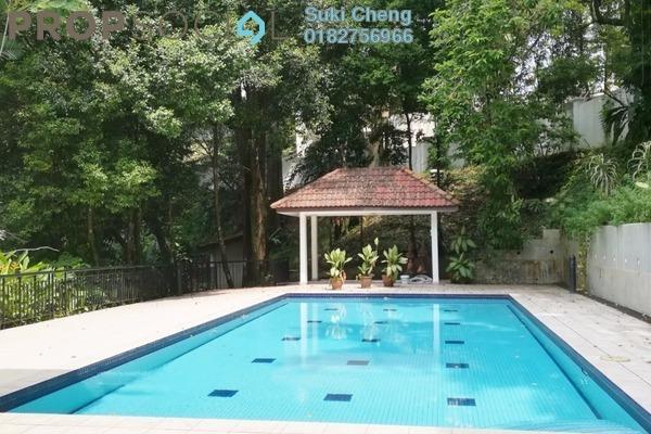 For Rent Bungalow at Bukit Tunku, Kenny Hills Freehold Semi Furnished 4R/4B 15k