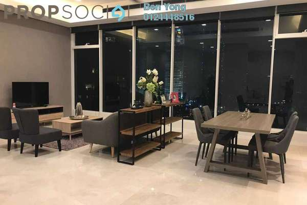 For Sale Condominium at Vipod Suites, KLCC Freehold Fully Furnished 2R/1B 2.41m