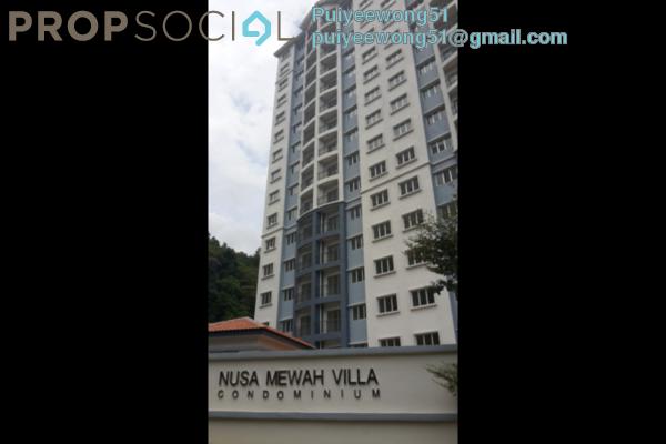 For Rent Condominium at Nusa Mewah, Cheras Leasehold Semi Furnished 3R/2B 1.25k
