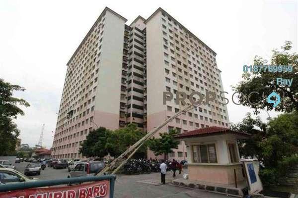 For Rent Apartment at Cendana Apartment, Bandar Sri Permaisuri Freehold Unfurnished 3R/2B 1k