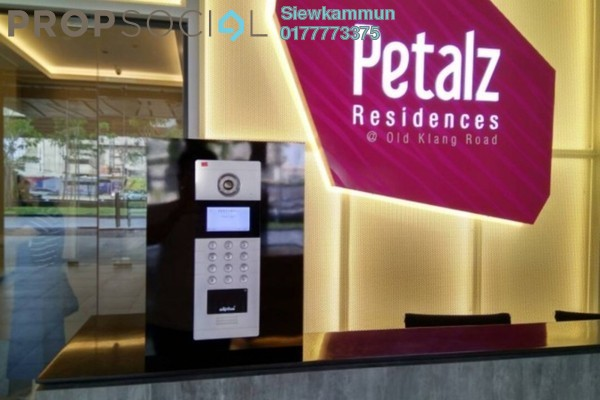 For Sale Serviced Residence at The Petalz, Old Klang Road Freehold Semi Furnished 4R/2B 798k