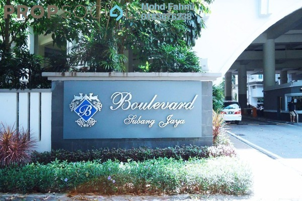 For Sale Duplex at The Boulevard, Subang Jaya Leasehold Semi Furnished 5R/5B 2.4m