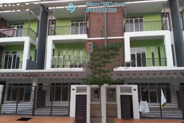 For Sale Terrace at Bukit Suria, Bandar Sungai Long Freehold Unfurnished 6R/6B 870k