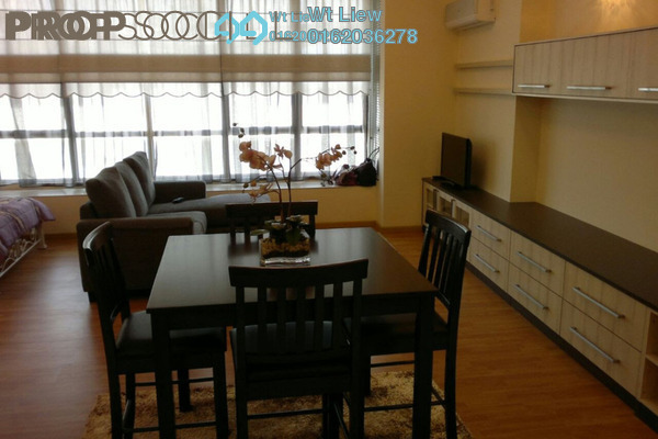For Rent SoHo/Studio at Park View, KLCC Freehold Fully Furnished 1R/1B 2.5k