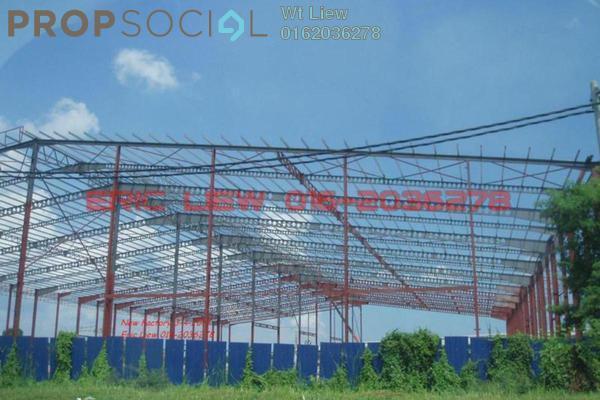 For Rent Factory at Kampung Telok Gong , Port Klang Leasehold Unfurnished 0R/1B 134k