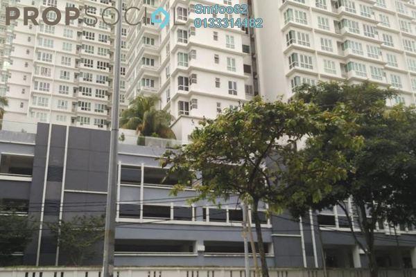 For Rent Condominium at Platinum Lake PV13, Setapak Freehold Semi Furnished 4R/2B 1.8k