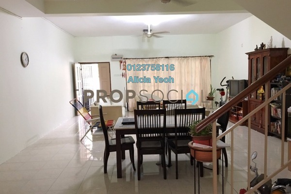 For Sale Terrace at Bandar Nusa Rhu, Shah Alam Freehold Semi Furnished 4R/3B 500k