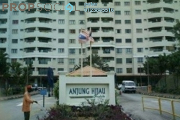 For Rent Condominium at Anjung Hijau, Bukit Jalil Freehold Fully Furnished 2R/2B 1.5k