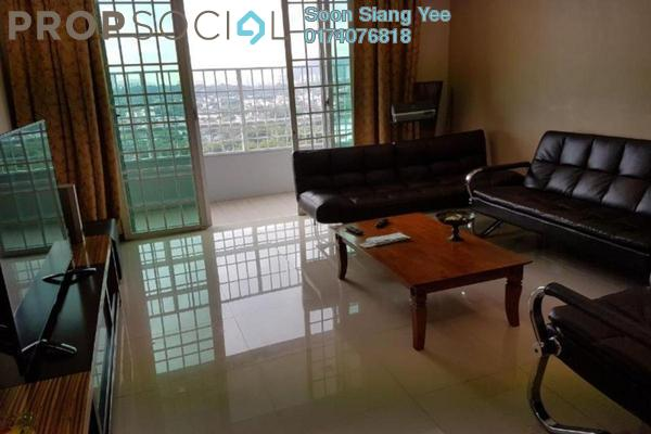 For Rent Condominium at BaysWater, Gelugor Freehold Fully Furnished 3R/2B 2.6k