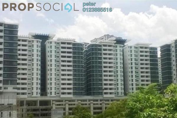 For Sale Condominium at Kiara Residence 2, Bukit Jalil Freehold Semi Furnished 4R/2B 790k