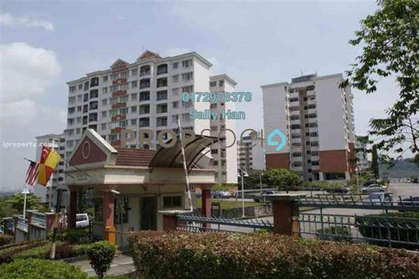 For Rent Apartment at Kenanga Apartment, Pusat Bandar Puchong Freehold Fully Furnished 3R/2B 1.3k