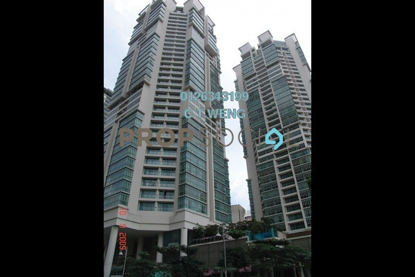 For Sale Condominium at Marc Service Residence, KLCC Freehold Fully Furnished 2R/2B 1.64m