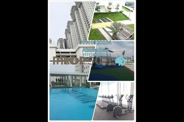 For Sale Condominium at Maxim Citilights, Sentul Leasehold Semi Furnished 2R/2B 460k