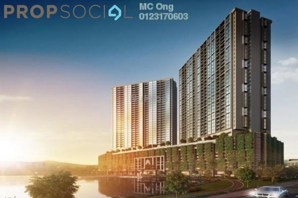For Sale Condominium at AERA Residence , Petaling Jaya Freehold Semi Furnished 3R/2B 370k