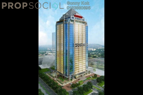 For Rent Office at The Pinnacle, Bandar Sunway Freehold Fully Furnished 0R/0B 1.08k