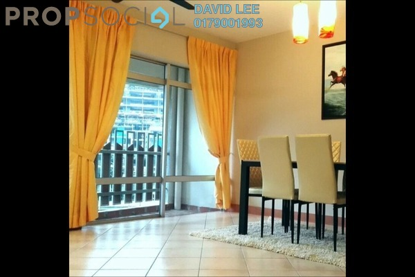 For Rent Condominium at Perdana Exclusive, Damansara Perdana Leasehold Semi Furnished 3R/2B 1.6k