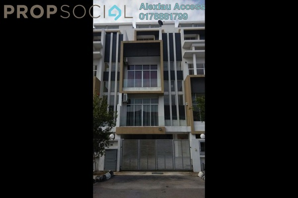 For Rent Terrace at Happy Garden, Old Klang Road Freehold Semi Furnished 5R/6B 3.7k