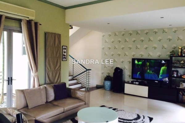 For Sale Townhouse at Sri Bukit Persekutuan, Bangsar Freehold Fully Furnished 4R/6B 3.5m