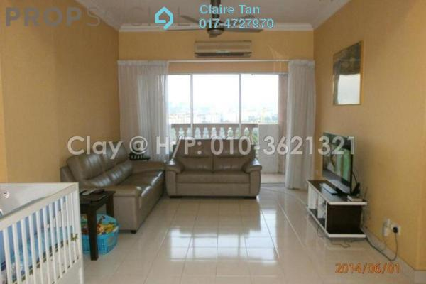 For Sale Apartment at Villamas Apartment, Bandar Puchong Jaya Freehold Semi Furnished 3R/2B 430k