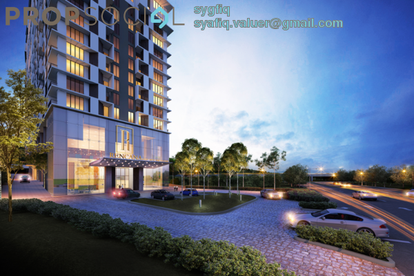 For Sale SoHo/Studio at Rencana Royale, TTDI Freehold Unfurnished 1R/1B 282k