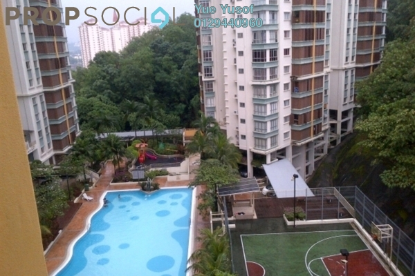 For Sale Condominium at Desa Putra, Wangsa Maju Leasehold Semi Furnished 3R/2B 710k