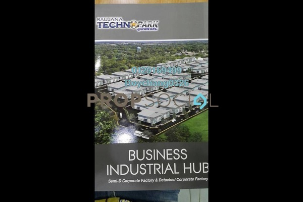 For Sale Factory at Saujana Technopark, Rawang Freehold Unfurnished 0R/2B 3m