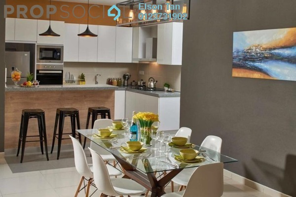 For Sale Serviced Residence at Edusentral, Setia Alam Freehold Semi Furnished 1R/1B 330k