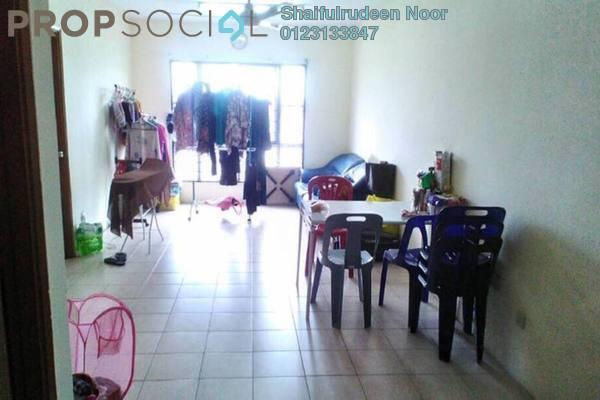 For Sale Apartment at Section 7, Shah Alam Freehold Fully Furnished 3R/2B 230k