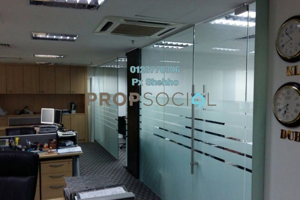 For Sale Office at Plaza Sentral, KL Sentral Freehold Fully Furnished 8R/2B 7m