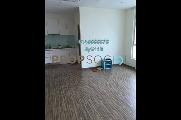 For Rent Condominium at ZetaPark, Setapak Freehold Semi Furnished 1R/1B 1.3k