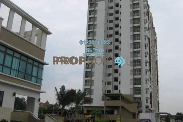 For Sale Condominium at The Heron Residency, Puchong Freehold Semi Furnished 3R/2B 460k