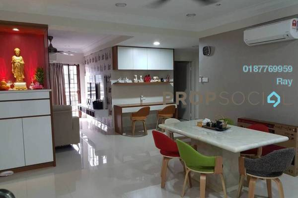For Rent Condominium at Glen View Villa, Cheras Freehold Fully Furnished 3R/2B 1.7k
