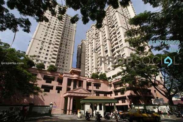 For Rent Condominium at Kenanga Point, Pudu Freehold Semi Furnished 3R/2B 1.75k