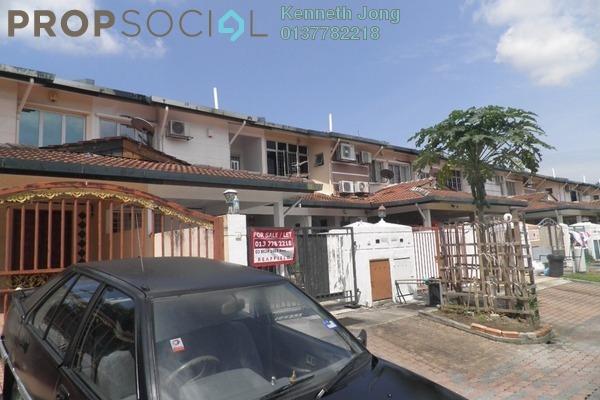 For Sale Townhouse at Sungai Congkak, Bukit Rimau Freehold Semi Furnished 3R/2B 449k