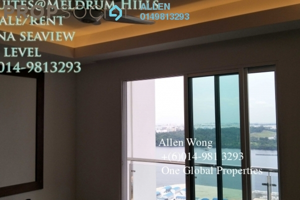 For Rent Condominium at Sky Suites @ Meldrum Hills, Johor Bahru Freehold Semi Furnished 3R/3B 4k