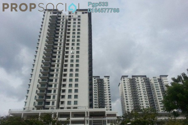 For Rent Condominium at Elit Heights, Bayan Baru Freehold Fully Furnished 4R/2B 1.6k