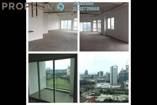 For Rent Office at V Square, Petaling Jaya Freehold Unfurnished 0R/1B 2.95k