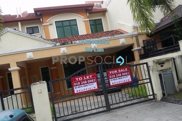 For Rent Terrace at Kota Warisan, Sepang Freehold Unfurnished 4R/2B 1.8k