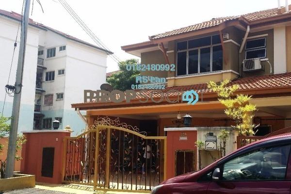 For Sale Terrace at Taman Tun Perak, Cheras South Freehold Semi Furnished 4R/3B 730k