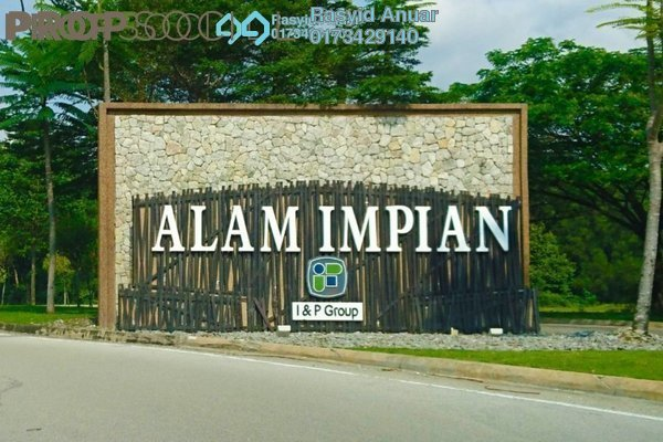 For Rent Terrace at Tenun, Alam Impian Freehold Semi Furnished 4R/5B 2.4k