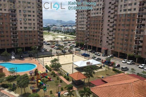 For Rent Apartment at Damai Apartment, Shah Alam Freehold Fully Furnished 3R/2B 1.5k